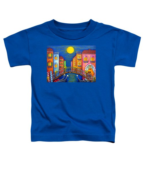 Moonlit Venice Toddler T-Shirt
