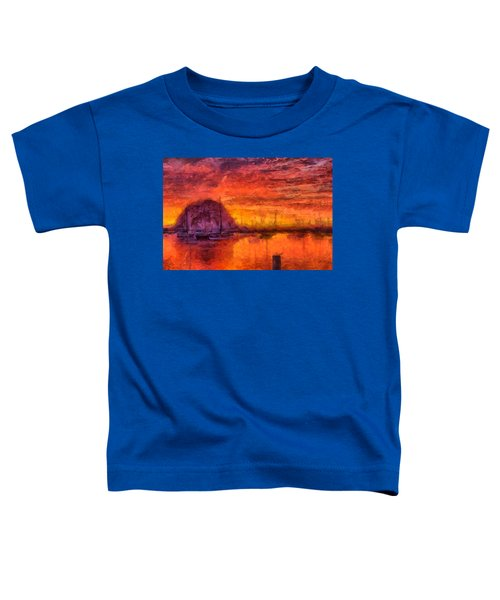Morro Bay Marina Toddler T-Shirt