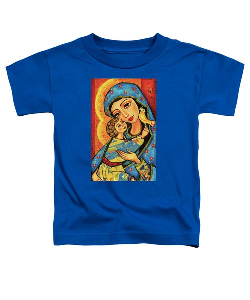 Mother Temple Toddler T-Shirt by Eva Campbell