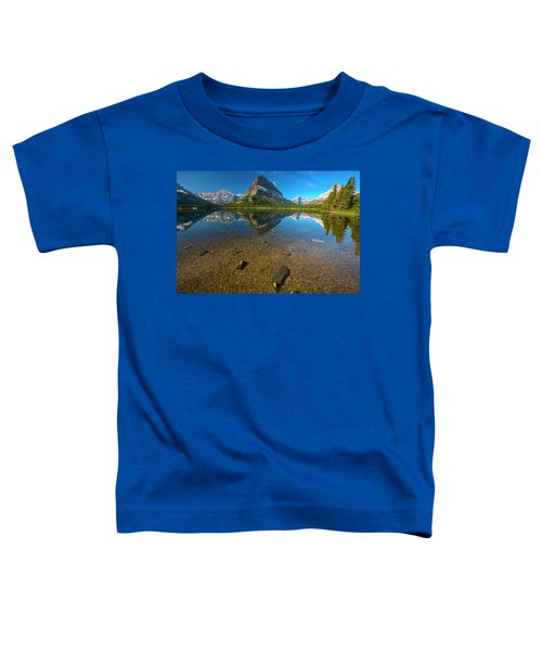 Mt. Grinnell Toddler T-Shirt