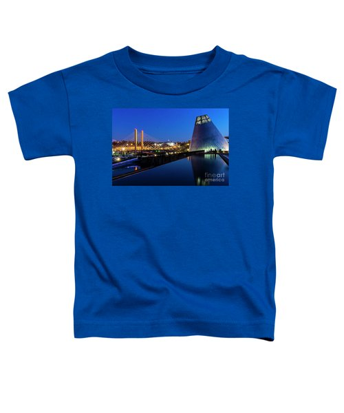 Museum Of Glass At Blue Hour Toddler T-Shirt
