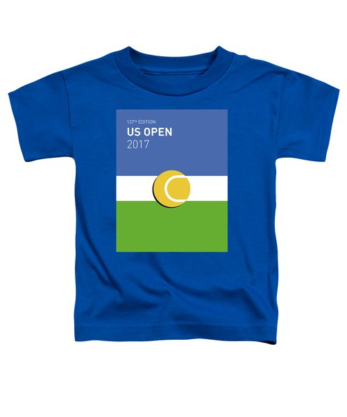 My Grand Slam 04 Us Open 2017 Minimal Poster Toddler T-Shirt
