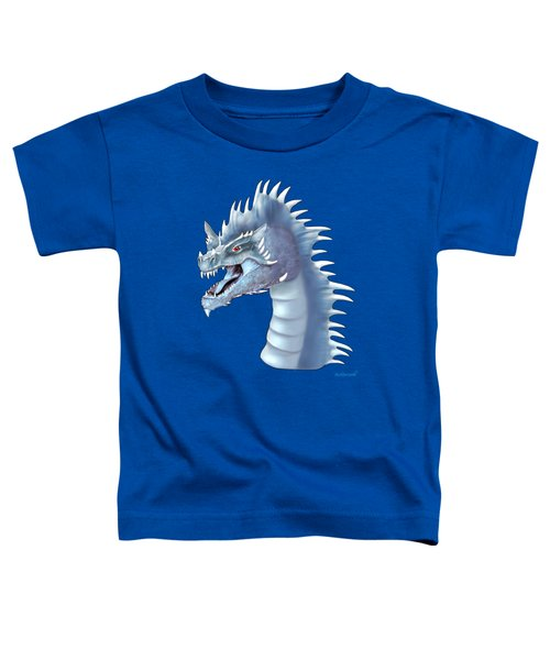 Mystical Ice Dragon Toddler T-Shirt by Glenn Holbrook
