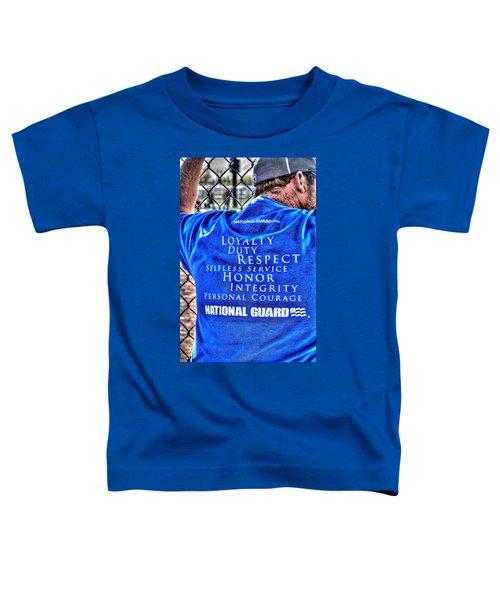 National Guard Shirt 21 Toddler T-Shirt
