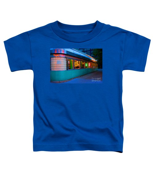 Neon Diner Toddler T-Shirt