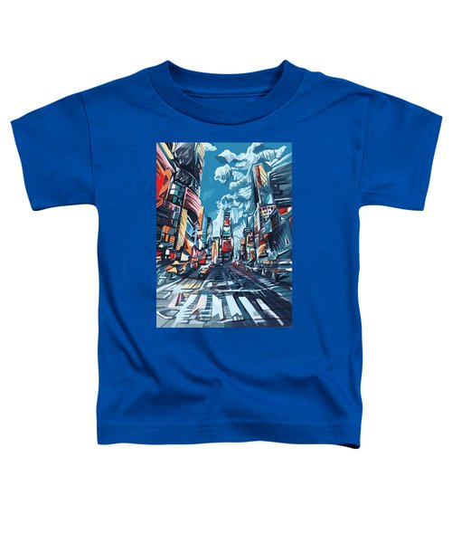 New York City-times Square Toddler T-Shirt