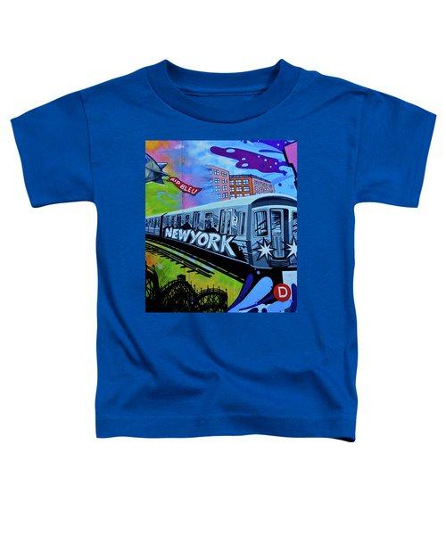 New York Train Toddler T-Shirt