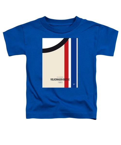 No014 My Herbie Minimal Movie Car Poster Toddler T-Shirt