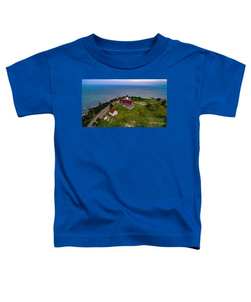 Nobska Point Lighthouse Toddler T-Shirt