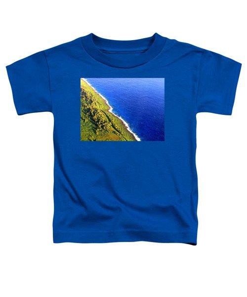 North Coast Of Tinian At Sunrise Toddler T-Shirt