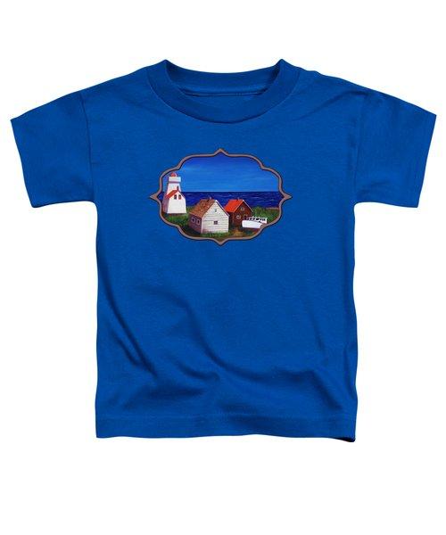 North Rustico - Prince Edwards Island Toddler T-Shirt by Anastasiya Malakhova