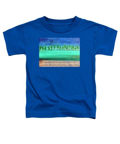 Not Everything Toddler T-Shirt