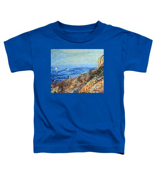 November Day At Point Lobos San Francisco Toddler T-Shirt