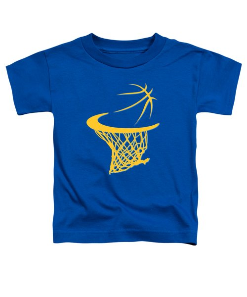 Nuggets Basketball Hoop Toddler T-Shirt