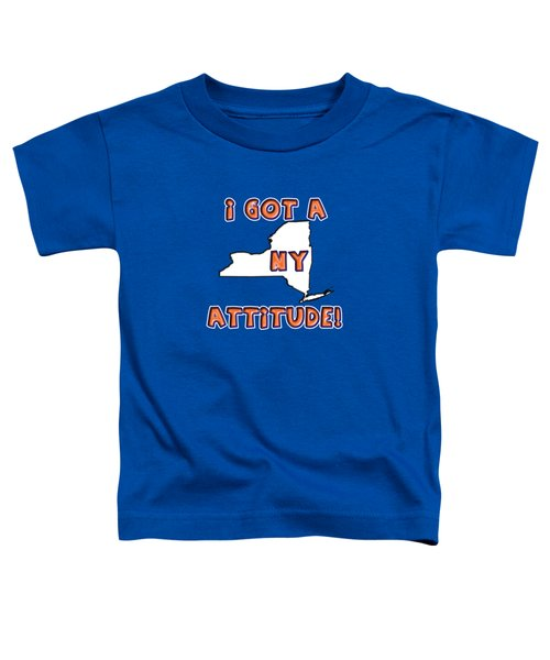 Ny Attitude-mets Colors Toddler T-Shirt