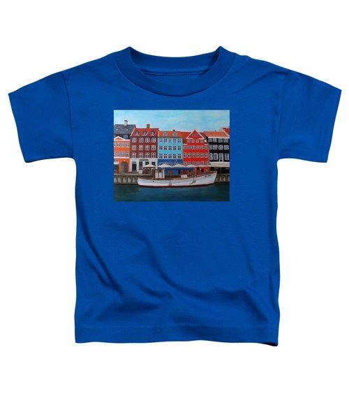 Nyhavn Copenhagen Toddler T-Shirt