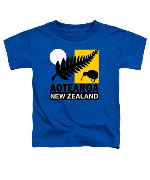 Nz-new Zealand Toddler T-Shirt