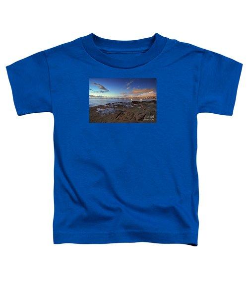 Ocean Beach Pier At Sunset, San Diego, California Toddler T-Shirt