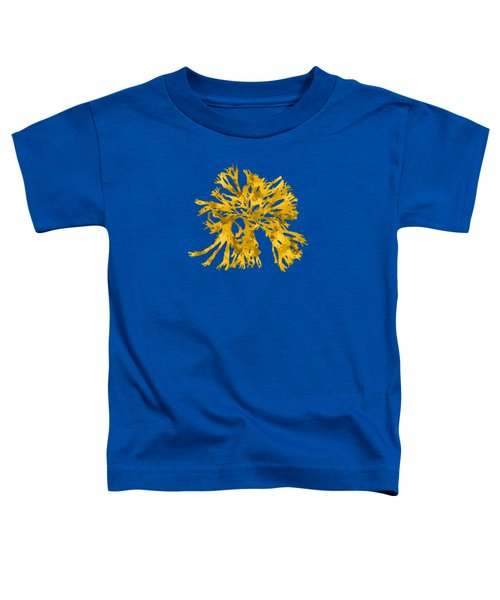 Ocean Seaweed Plant Art Rhodomenia Sobolifera Square Toddler T-Shirt