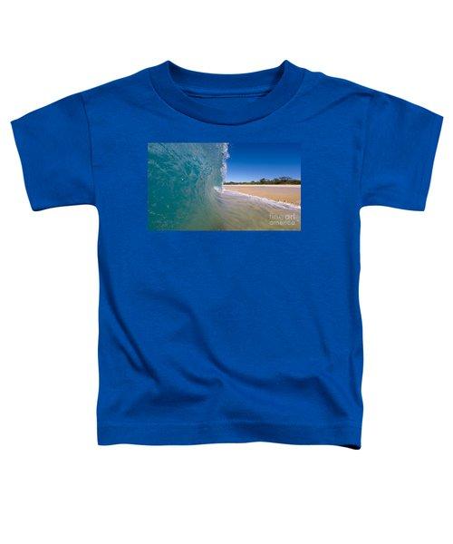 Ocean Wave Barrel Toddler T-Shirt