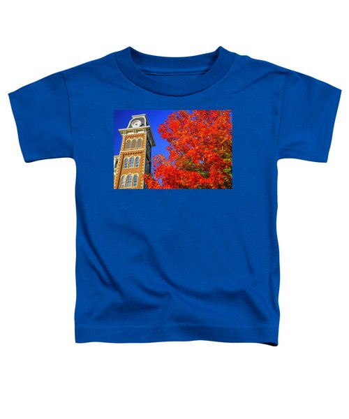 Old Main Maple Toddler T-Shirt by Damon Shaw