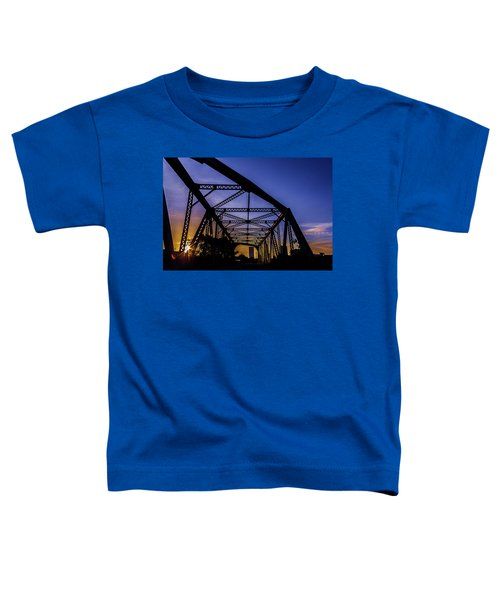 Old Steel Bridge Toddler T-Shirt