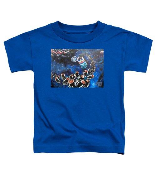 Blaa Kattproduksjoner                     Oliveus Are Canned Together Can Toddler T-Shirt