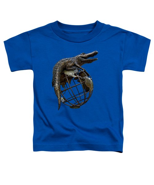 On Top Of The World Transparent For T Shirts Toddler T-Shirt by D Hackett