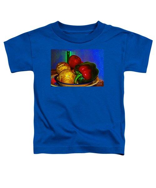 Onions Apples Pepper Toddler T-Shirt