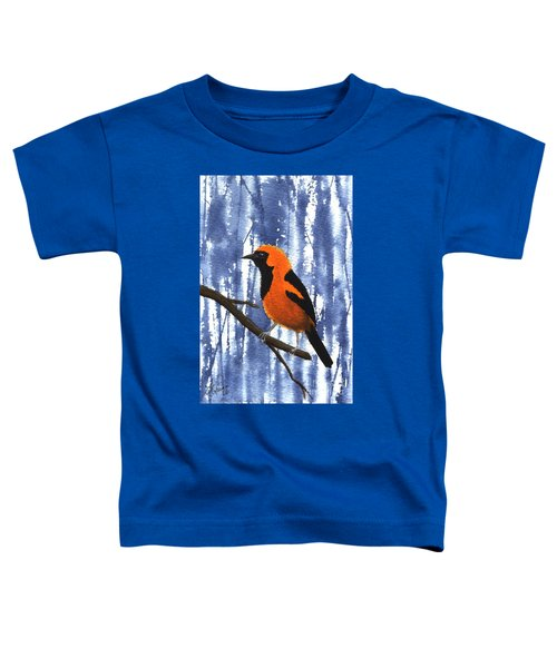 Orange-headed Oriole Toddler T-Shirt