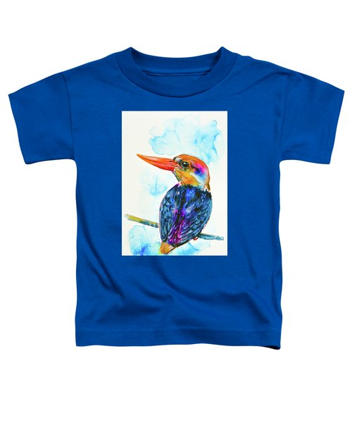 Oriental Dwarf Kingfisher Toddler T-Shirt