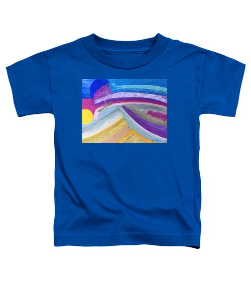 Over The Waves Toddler T-Shirt