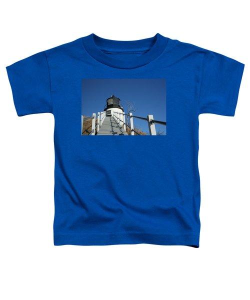 Owls Head Lighthouse Winter Toddler T-Shirt