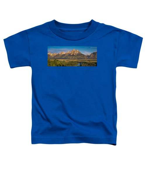 Oxbow Bend Grand Tetons Toddler T-Shirt