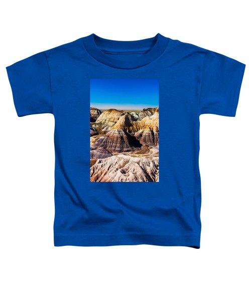 Painted Desert Yellow Bands Toddler T-Shirt