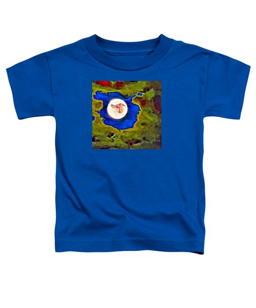 Painted Moon Toddler T-Shirt