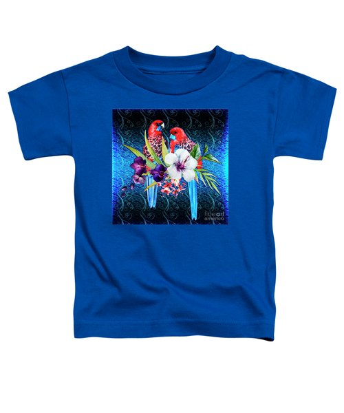 Paired Parrots Toddler T-Shirt