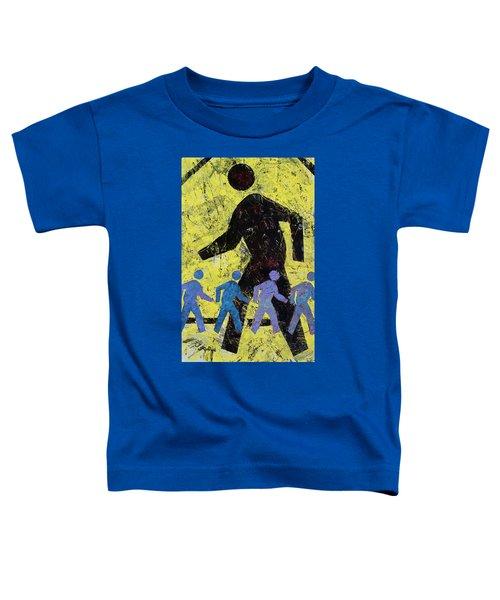 Pedestrian Crossing Toddler T-Shirt