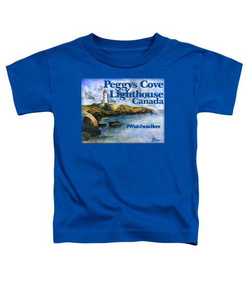 Peggys Cove Lighthouse Shirt Toddler T-Shirt