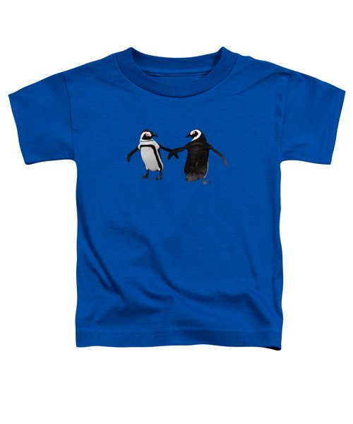 Penguin Dance Toddler T-Shirt by Methune Hively
