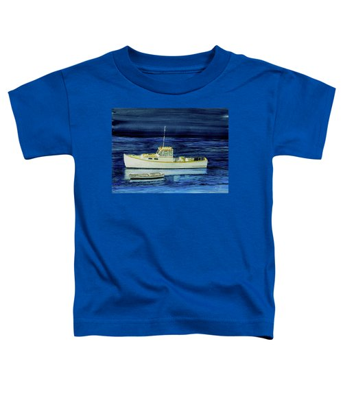 Perkins Cove Lobster Boat And Skiff Toddler T-Shirt