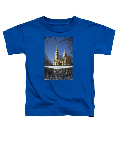 Toddler T-Shirt featuring the photograph Peter And Paul Cathedral by Travel Pics