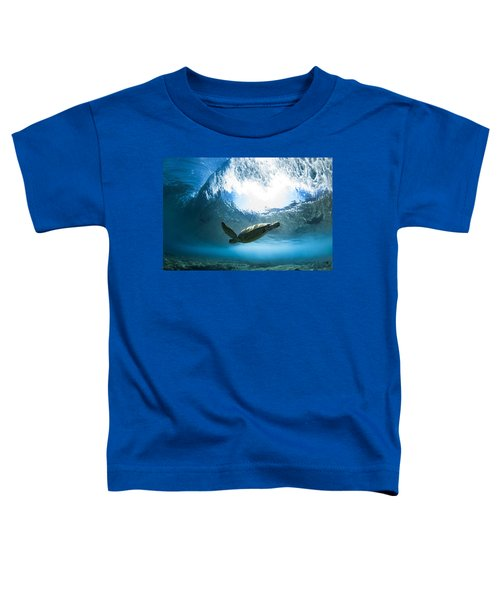 Pipe Turtle Glide Toddler T-Shirt