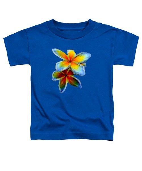 Plumerias Toddler T-Shirt