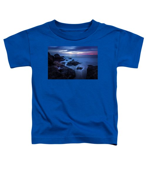 Point Dume Rock Formations Toddler T-Shirt