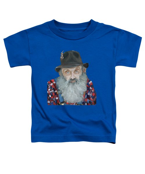 Popcorn Sutton Moonshiner Bust - T-shirt Transparent Toddler T-Shirt