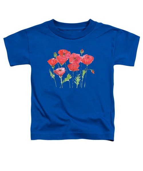 Poppy Garden Toddler T-Shirt