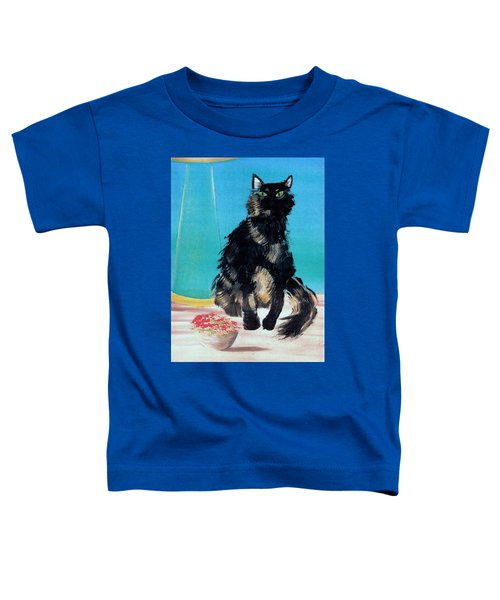 Portrait Of Muffin Toddler T-Shirt