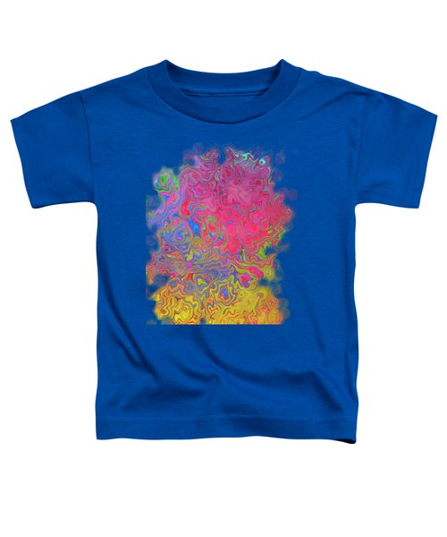 Psychedelic Laundry Transparent Design Toddler T-Shirt by Shelly Weingart