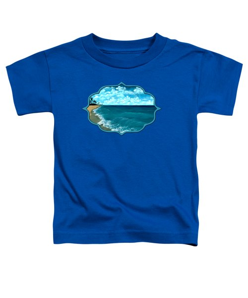 Punta Cana Beach Toddler T-Shirt